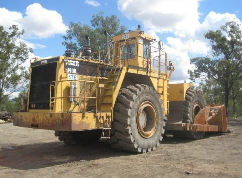 1985 Tiger 690B Wheel Dozer (H6130) 1