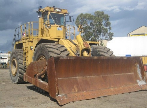 1985 Tiger 690B Wheel Dozer (H6130) 2