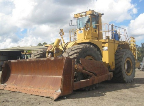 1985 Tiger 690B Wheel Dozer (H6130) 3