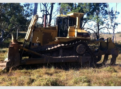 1991 Caterpillar D9N Dozer 1
