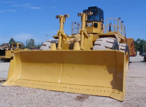 1996 Caterpillar 690D Wheel Dozer (H6810) 2