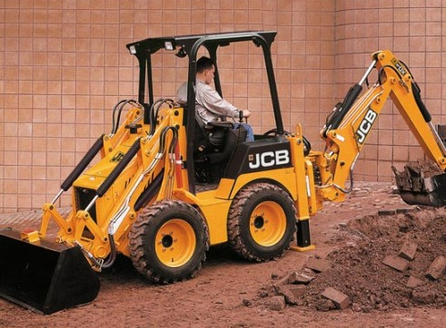 1CX Backhoe Loader 2