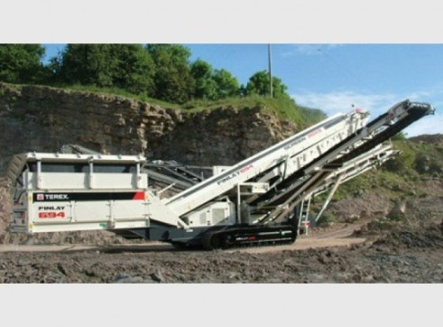 1x Terex Finlay 3 Deck Screen 694x 1