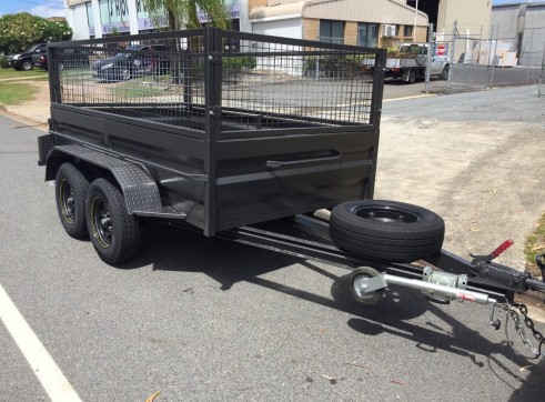 2 Ton Tandem box trailer