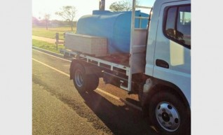 2 Tonne Tipper with Optional slide in 2000L Water Tank 1