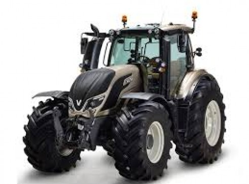 2 x 100hp Valtra Tractors w/Front End Loaders  1
