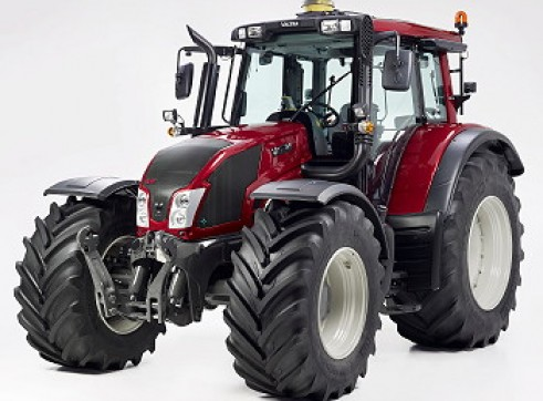 2 x 100hp Valtra Tractors w/Front End Loaders  2