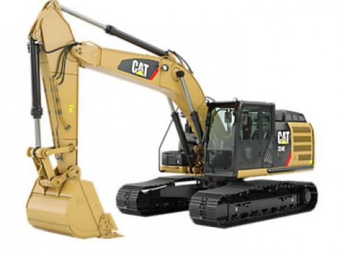 2 x 2012 12T Cat Excavators