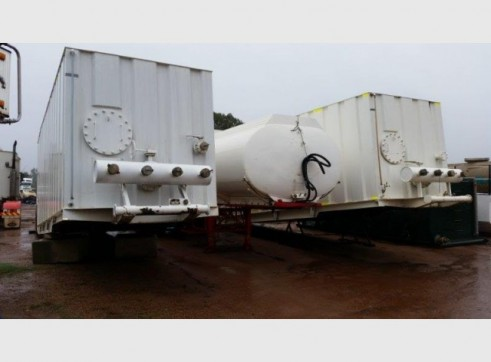 2 x 70,000L Water Storage Containers 1