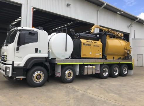 2 x 8,500L MEGA Vacuum Excavation Trucks 1