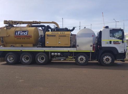 2 x 8,500L MEGA Vacuum Excavation Trucks 2