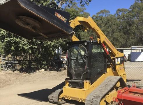 2 x 85HP Caterpillar 279D Posi-Track Loaders - 5 tonne 10