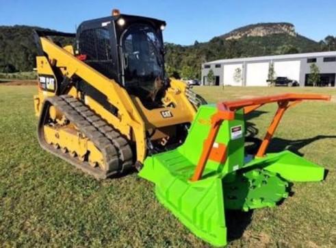 2 x 85HP Caterpillar 279D Posi-Track Loaders - 5 tonne 4