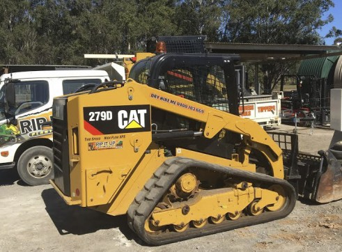 2 x 85HP Caterpillar 279D Posi-Track Loaders - 5 tonne 5