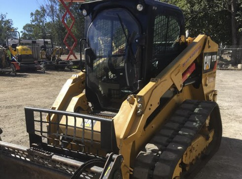 2 x 85HP Caterpillar 279D Posi-Track Loaders - 5 tonne 6