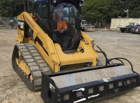 2 x 85HP Caterpillar 279D Posi-Track Loaders - 5 tonne 7