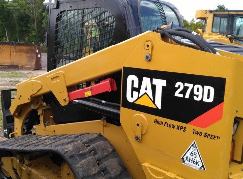 2 x 85HP Caterpillar 279D Posi-Track Loaders - 5 tonne 3