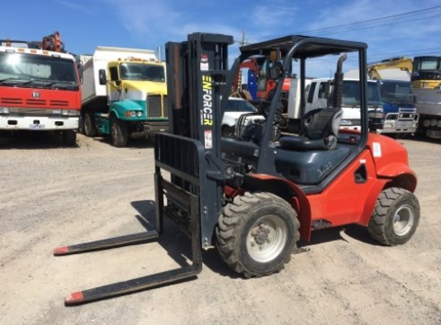 2.5T All Terrain Forklift 1