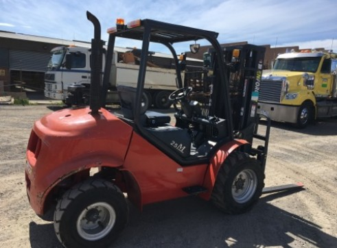 2.5T All Terrain Forklift 2