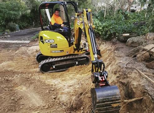 2.5T JCB Excavator  1
