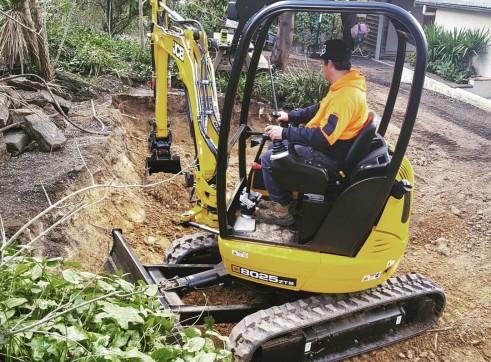 2.5T JCB Excavator  2