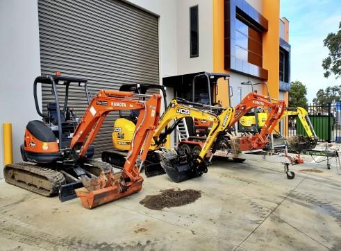 2.5T JCB Excavator  3