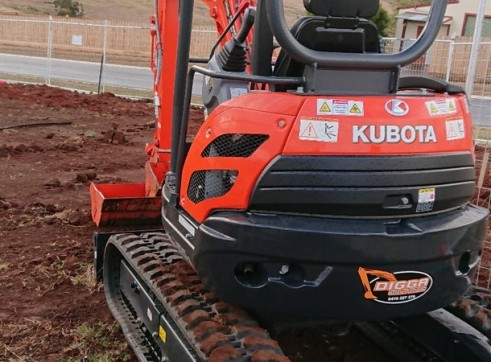 2.5T Kubota Excavator 3