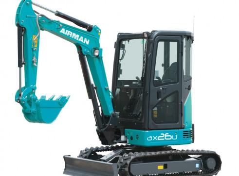 2.6T AIRMAN AX26U-6A Excavator 1