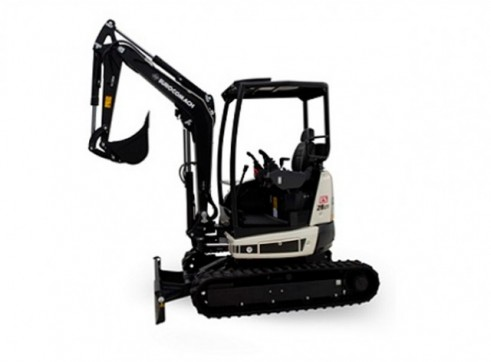 2.8T Eurocomach ES28ZT Mini Excavator 1