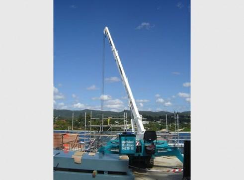 2.9 Ton TOA crawler mini crane 1
