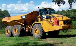 20-40T Artic Dump Trucks 1