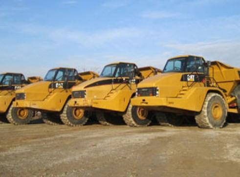 20-40T Artic Dump Trucks