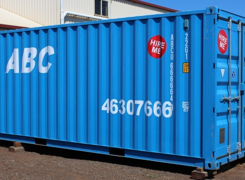 20 foot shipping container for hire 1