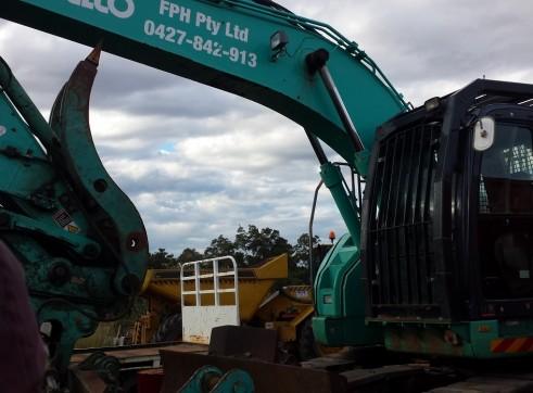 20 Ton to 26 Ton Zero Tail Excavator 2