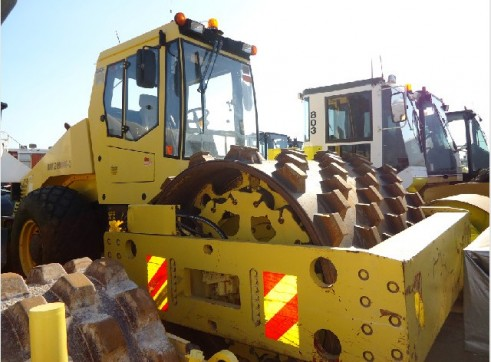 20 Tonne Bomag BW219DH-3 Pad Foot Roller 2