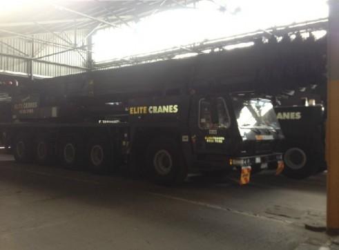 200 Tonne All Terrain Mobile Crane  1