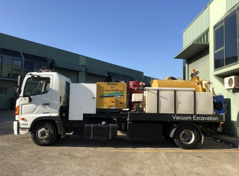 2000 Litre Hydroexcavation truck For Sale 4