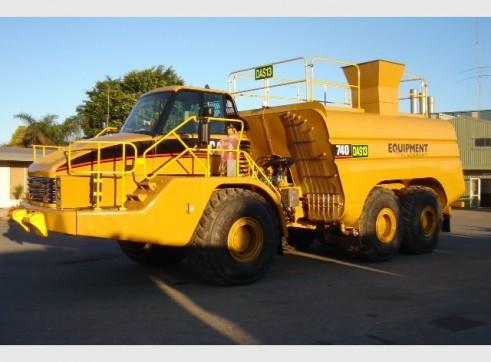 2005 CAT 740 Water Cart (H6630)