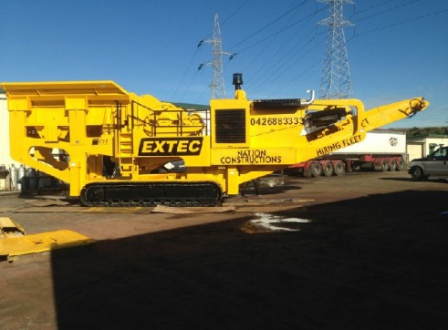2005 Extec 50 tonne Jaw Crusher 1