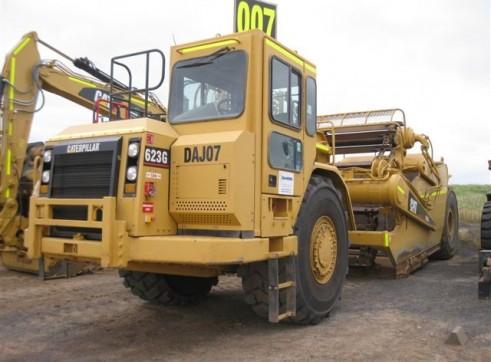 2007 Cat 623G Scraper 2