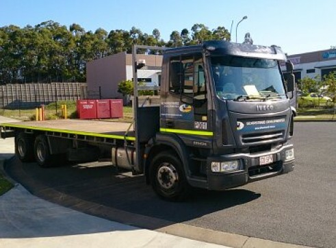 2007 Iveco Tray truck  2