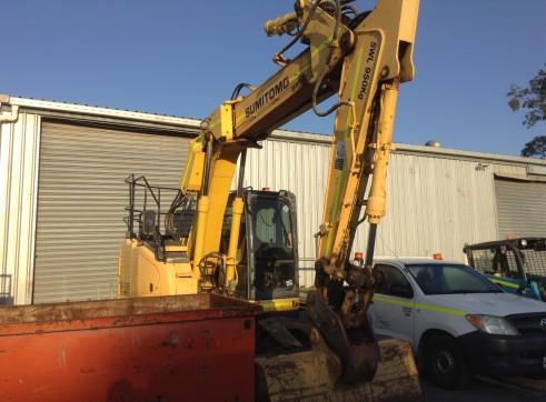 2008 13T Sumitomo Excavator SH135X-3B 2