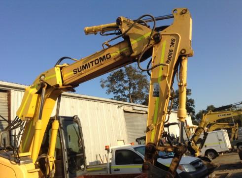2008 13T Sumitomo Excavator SH135X-3B 3