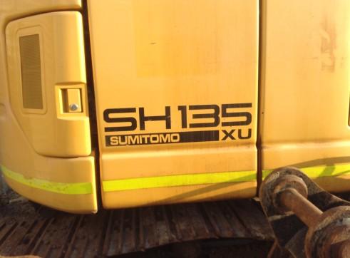 2008 13T Sumitomo Excavator SH135X-3B 4