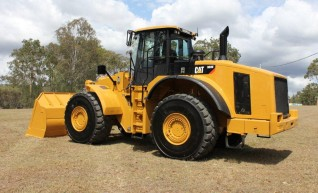 2008 CAT 980H Wheel Loader 1
