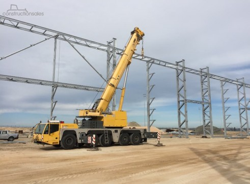 2008 Demag AC160-2 160 Tonne All Terrain Crane 3