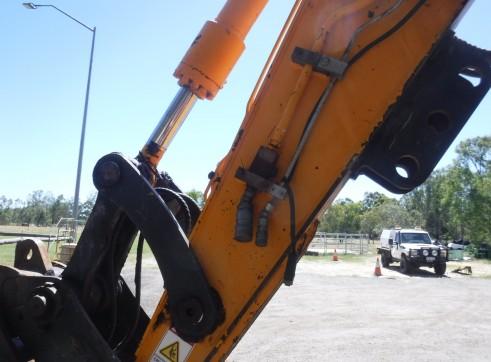 2008 Hyundai R140W-7 Wheeled Excavator 9