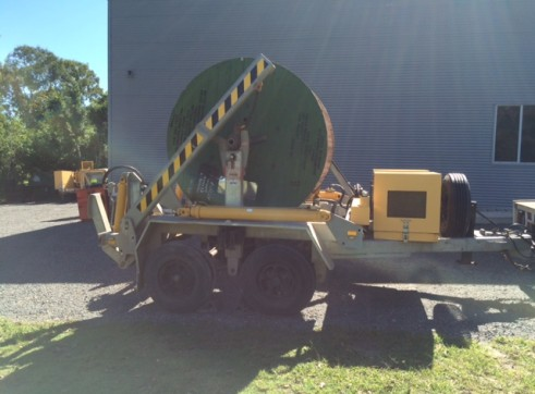 "2008 Redmond Gary 6Ton Self Loading Cable Trailer. ""Jinka"" 1"