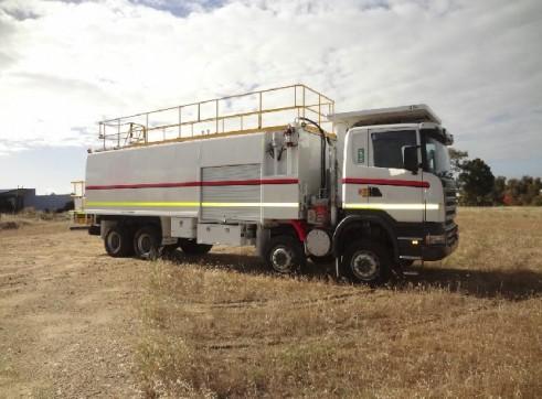 2008 Scania R420 8x8 ST519 Service Truck (H6450)