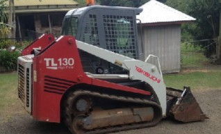 2008 Takeuchi TL130 Tracked Skid Steer Loader 1